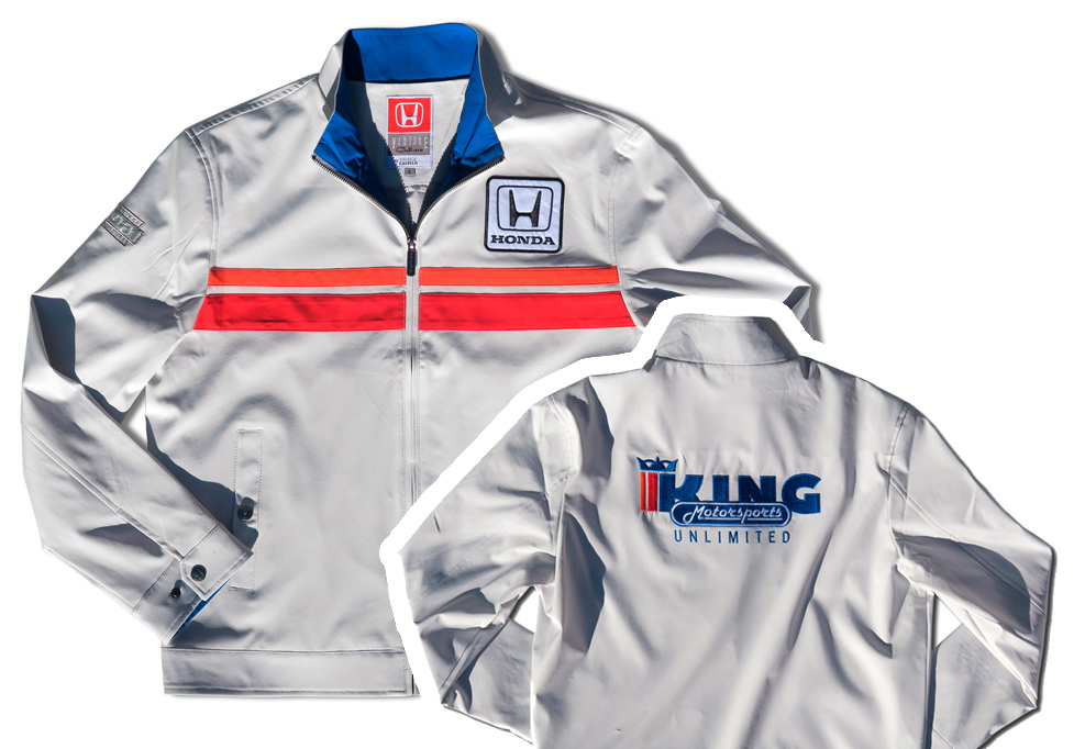 King Motorsports Soft Shell Vintage Jacket