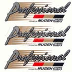 Mugen Professional Concept Sticker Set