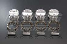 TODA Forged Piston Kit for B-Series  - High Compression Forged Piston Kit