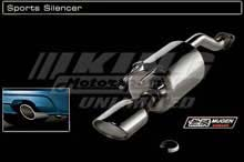 Mugen Civic Si 4-Door Sports Silencer