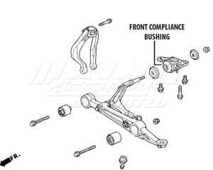 Compliance Bushings Honda Pilot